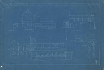 Architectural plan, Hawke's Bay Children's Home