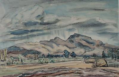 Rain at Havelock North
