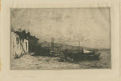 Cabanes de Pecheurs - Fisherman's Huts