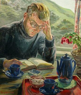 Man Reading; Campbell, Janet; 58/370