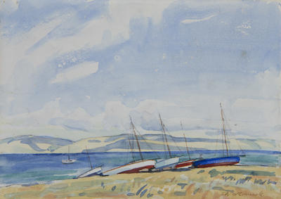 Untitled - boats in harbour