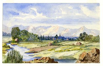 The River Avon: Christchurch N.Z.