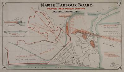 Plan,  Napier Inner Harbour
