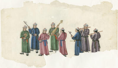 Untitled - group of eight musicians