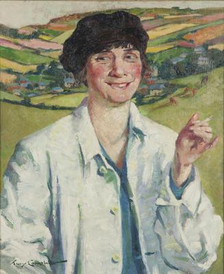 Portrait of Dobbie