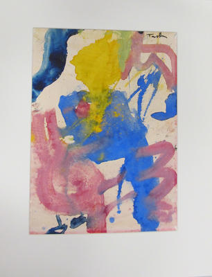Untitled - abstract painting