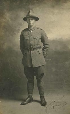 Private Raymond Ivan Baillie