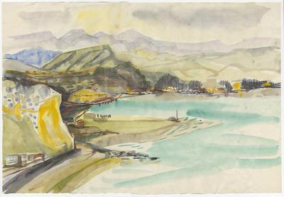 Untitled - landscape of inner harbour