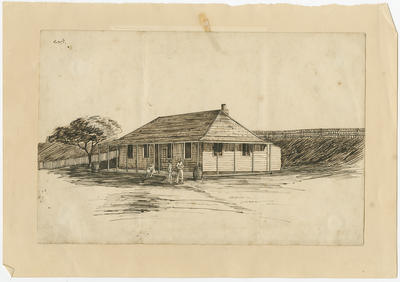 Untitled - early colonial house