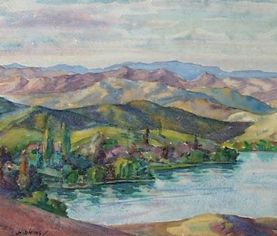 Untitled - lake and hills