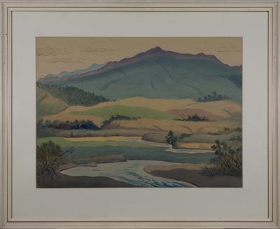 The Ohau Valley - on the road to the Tararuas; McCormack, Thomas Arthur; 62/141
