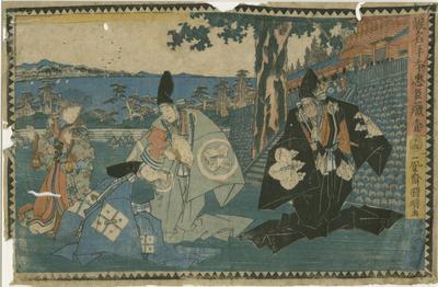 Kanadehon Chūshingura Act 1