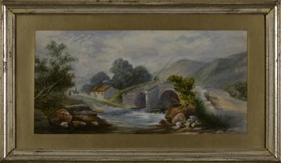 Untitled - stone bridge over river