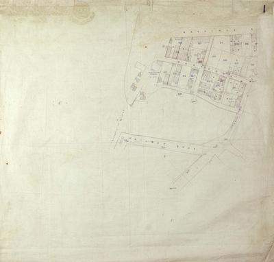 Map, Napier land lots in Ahuriri