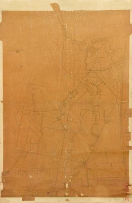 Map, Levels of Napier Suburban District