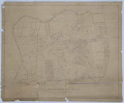Map, Havelock North Town District