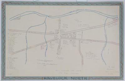 Map, Havelock North