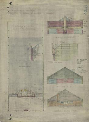 Architectural plan, Stewart Nash Motors