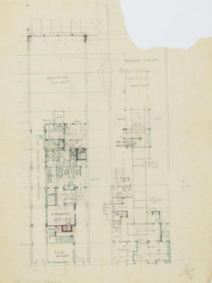 Architectural plan, Furniture Warehouse