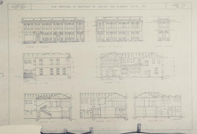 Architectural plan, Kinross White Limited; Hay, James Augustus Louis