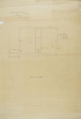 Architectural plan, Municipal Buildings, Napier