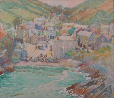 Portloe, Cornwall; Campbell, Janet; 76/371