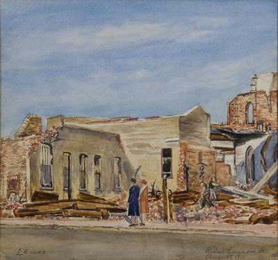 Ruins, Emerson St