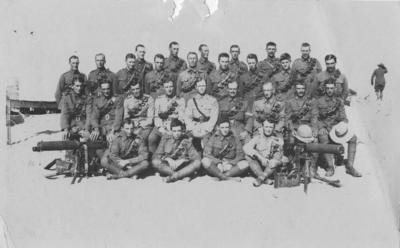 Trooper Percy R Manson's Machine Gun Squadron