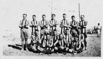 Rugby team of New Zealand soldiers, World War I