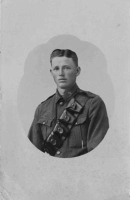 Trooper Percy R. Manson, New Zealand Soldier