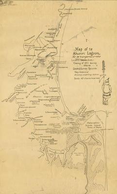 Map, Inner Harbour Napier