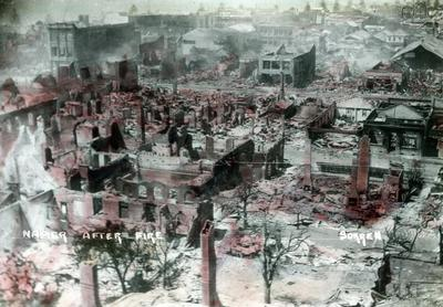 Napier, after the fire