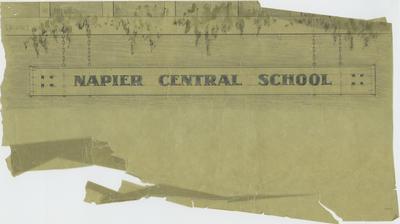 Plan, Napier Central School Sign