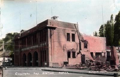 Central Fire Station, Napier
