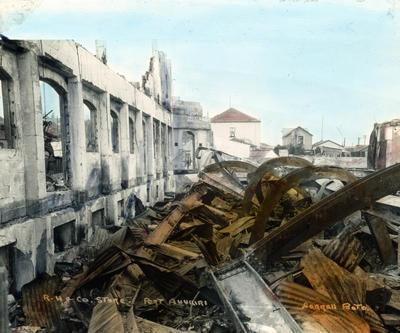 Robjohns, Hindmarsh and Company, Port Ahuriri
