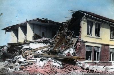 Back view of Napier Hospital Nurses' Home, Napier
