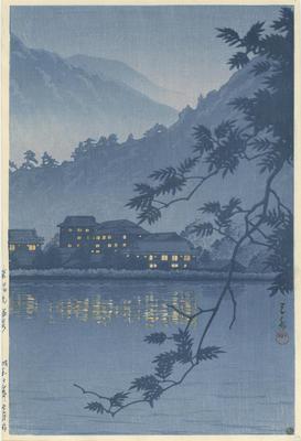 Nikkō Yumoto Onsen; Kawase, Hasui; Watanabe; 87/37/1