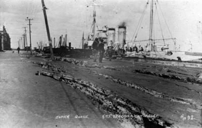 HMS Veronica at Ahuriri