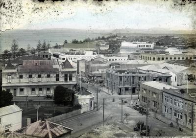 New Napier; Sorrell, Percy Caz