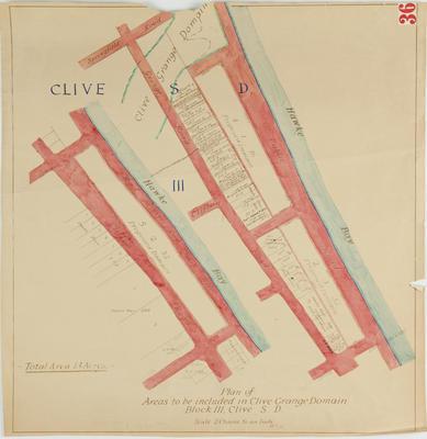 Plan, Clive Grange Domain