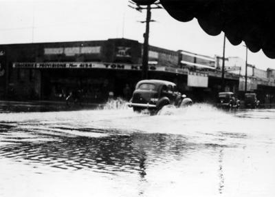 Minor flooding, Hastings