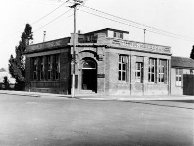 Herald Tribune building, Hastings