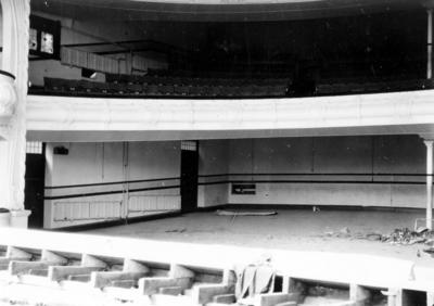 Interior of Municipal Theatre, Hastings