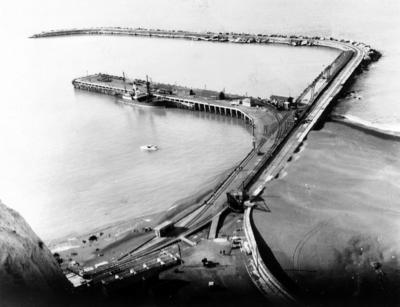 Napier wharf, Napier