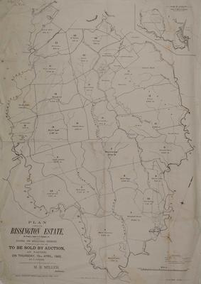 Plan, Rissington Estate