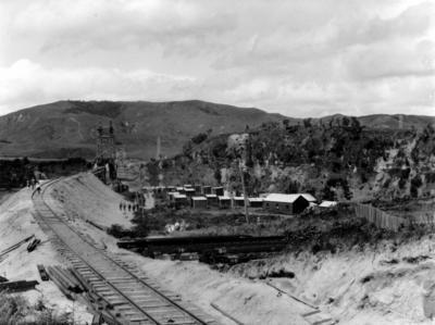 Railway line, Hawke's Bay