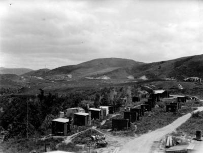 Railway line construction, Hawke's Bay