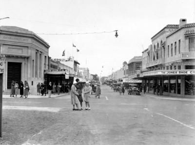 Corner of Hastings Street and Emerson Street, Napier