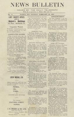 Newspaper, News Bulletin