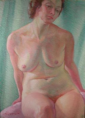 Nude study; Campbell, Janet; 58/371